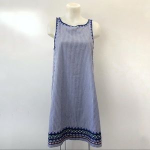Vineyard Vines Dress size 10 Blue Stripe Nautical